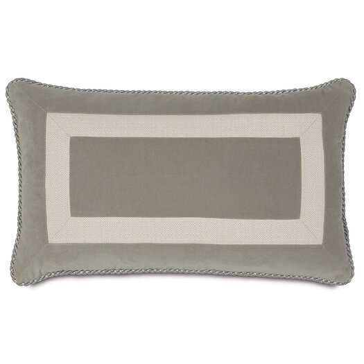 Eastern Accents Rayland Polyester Jackson Heather Border Collage Decorative Pillow
