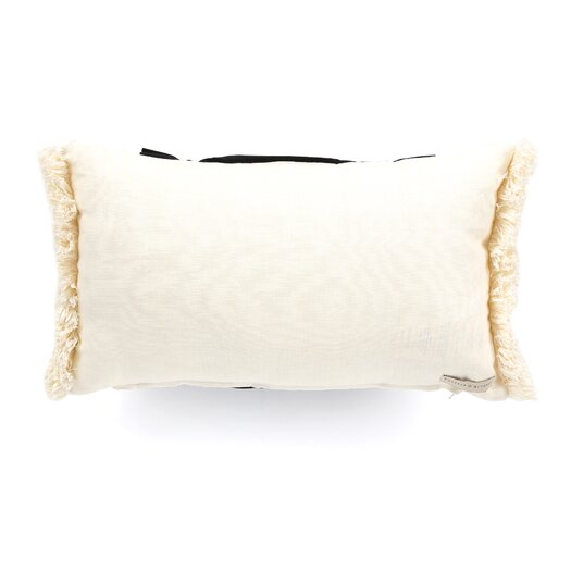 Eastern Accents Evelyn Polyester Fullerton Ink Ruched Insert Decorative Pillow