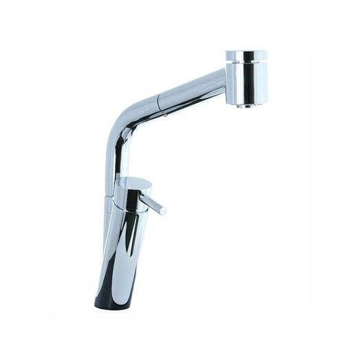 Cifial Techno Pull Out Single Handle Single Hole Kitchen Faucet