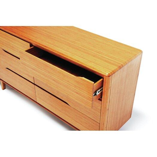 Greenington Currant 6 Drawer Bamboo Dresser