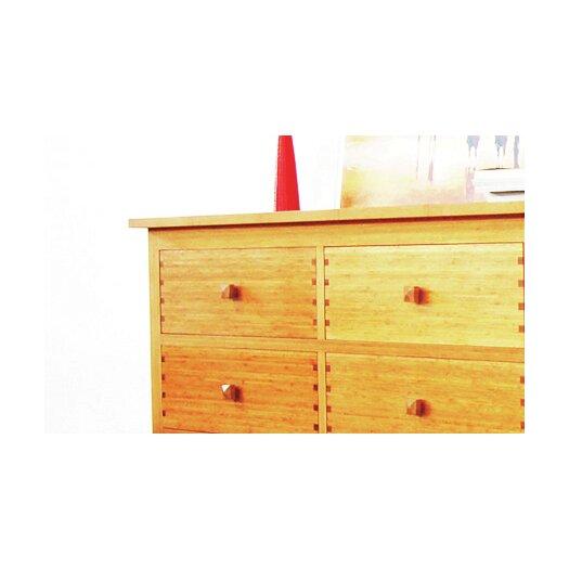Greenington Hosta 6 Drawer Bamboo Dresser