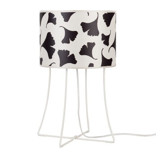 "Lights Up! Virgil 21"" H Table Lamp with Drum Shade"