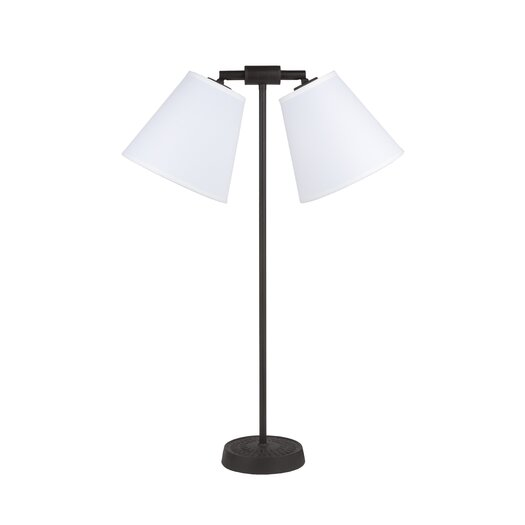 """Lights Up! Zoe 26"""" H Lamp with Empire Shade"""