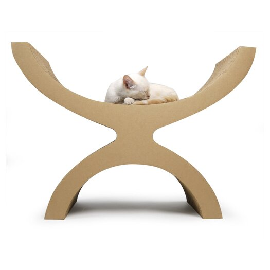 Kittypod Couchette Modern Recycled Paper Cat Perch