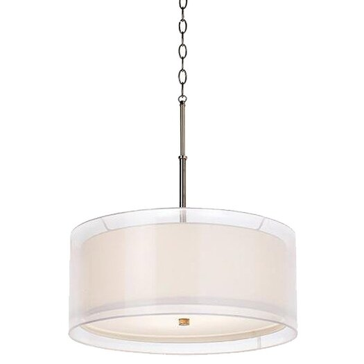 Pacific Coast Lighting Seeri 3 Light Drum Pendant
