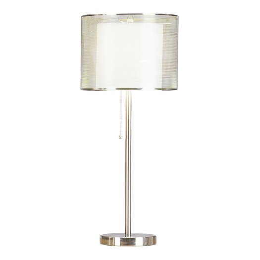 Pacific Coast Lighting PCL Urban Mystique 28'' H Table Lamp with Drum Shade