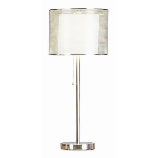 """Pacific Coast Lighting PCL Urban Mystique 28"""" H Table Lamp with Drum Shade"""