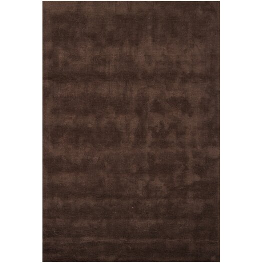 Chandra Rugs Clarissa Brown Solid Area Rug