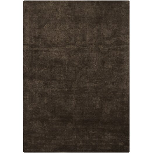 Chandra Rugs Clarissa Chocolate Solid Area Rug