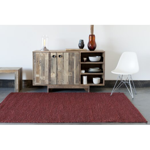 Chandra Rugs Pricol Red Natural Area Rug