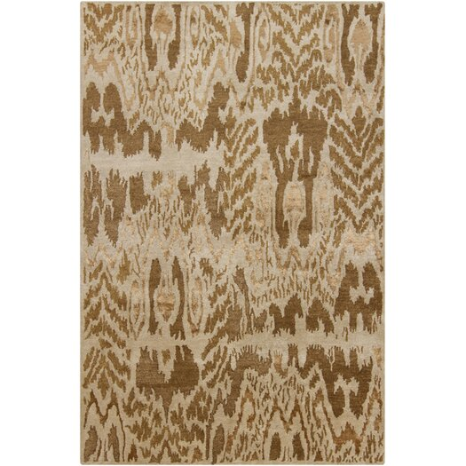 Chandra Rugs Rupec Brown/Tan Abstract Area Rug