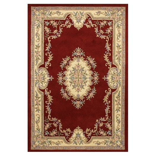 Chandra Rugs Abusson Red Area Rug