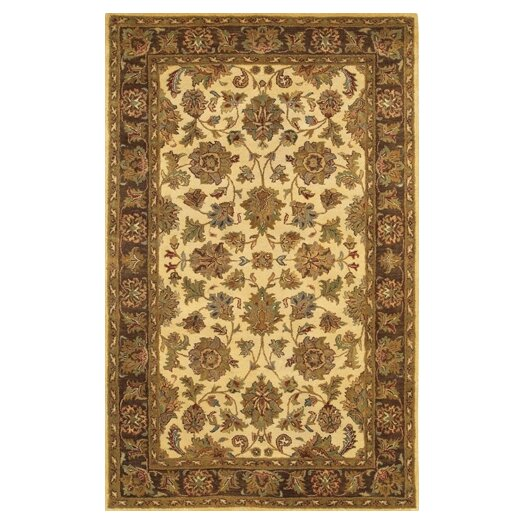 Chandra Rugs Adonia Gold / Yellow Area Rug