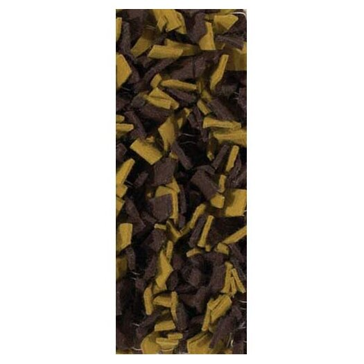 Chandra Rugs Ayoka Brown/Yellow Area Rug