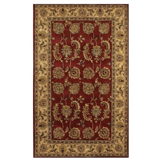 Chandra Rugs Dream Red Area Rug