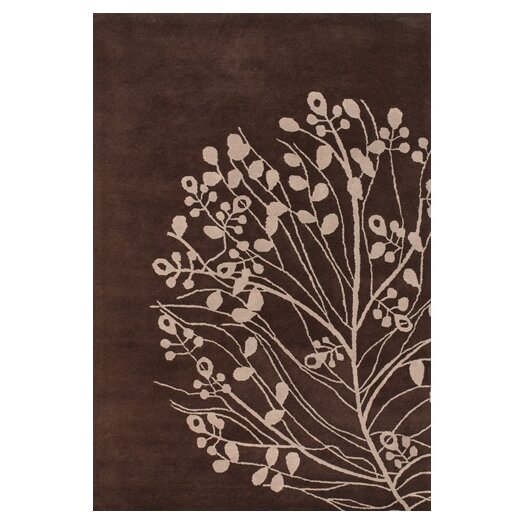 Chandra Rugs Dharma Brown/Tan Area Rug