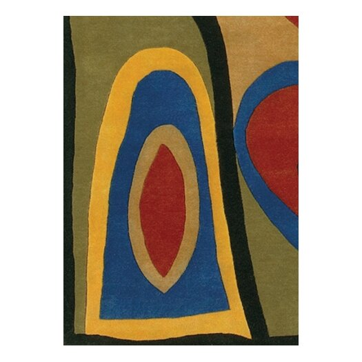 Chandra Rugs Rain Area Rug