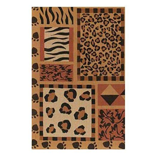 Chandra Rugs Safari Brown Area Rug