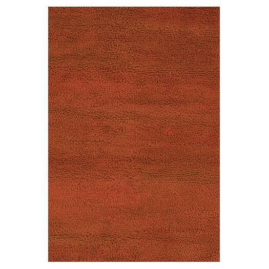 Chandra Rugs Strata Red Area Rug
