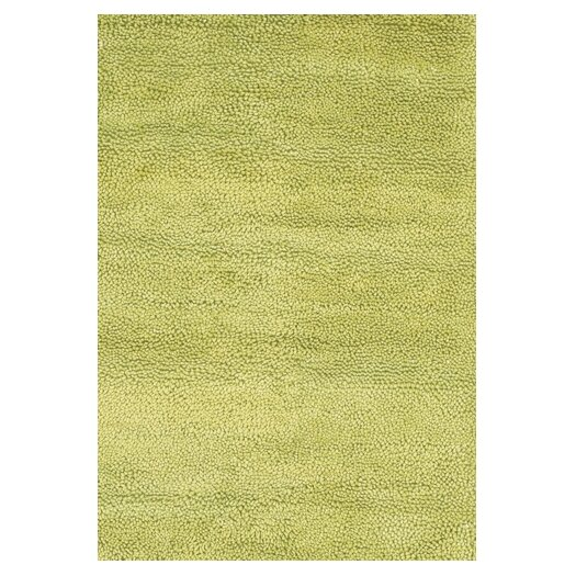 Chandra Rugs Strata Green Area Rug