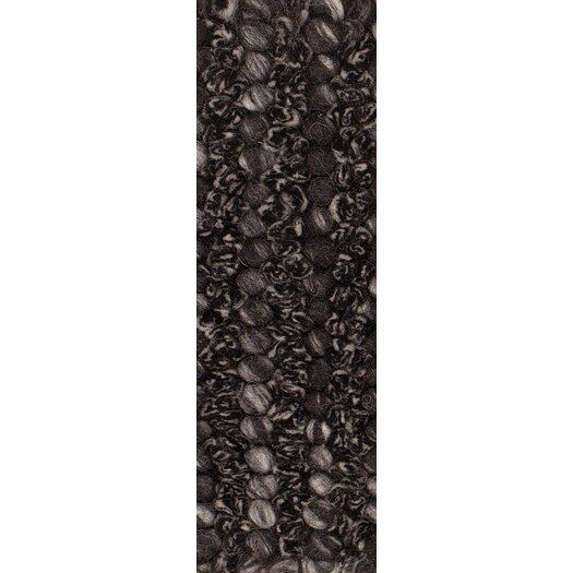 Chandra Rugs Anni Black/Gray Area Rug