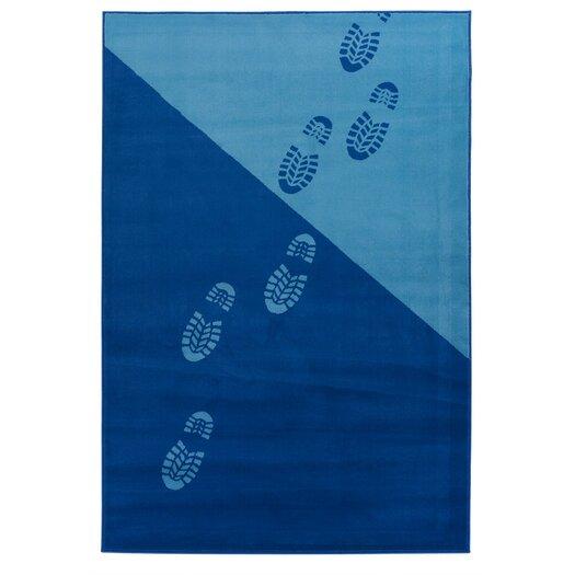 Chandra Rugs Dersh Footprint Novelty Rug