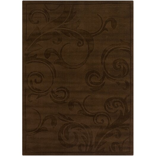 Chandra Rugs Loocho Chocolate Rug