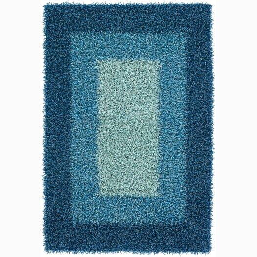 Chandra Rugs Paramera Blue Area Rug