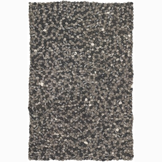 Chandra Rugs Stone Black/Gray Area Rug