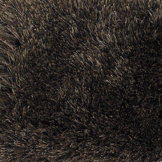 Chandra Rugs Vani Black Solid Area Rug