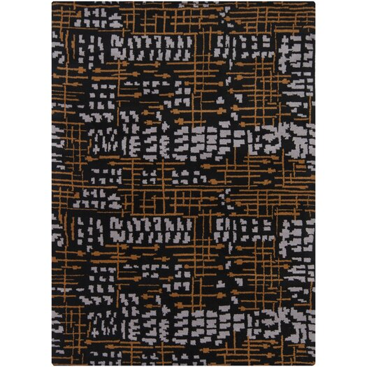Chandra Rugs Bajrang Orange/White Area Rug