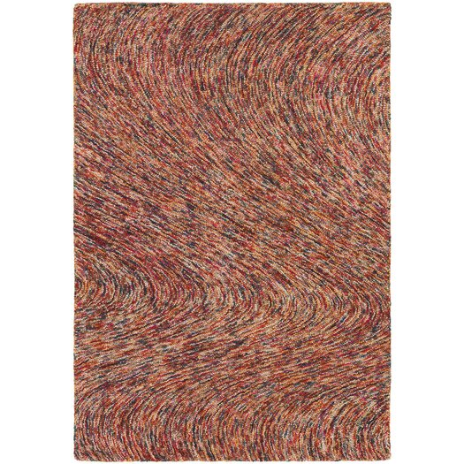 Chandra Rugs Galaxy Rust Area Rug