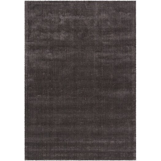 Chandra Rugs Sara Shag Dark Brown Area Rug