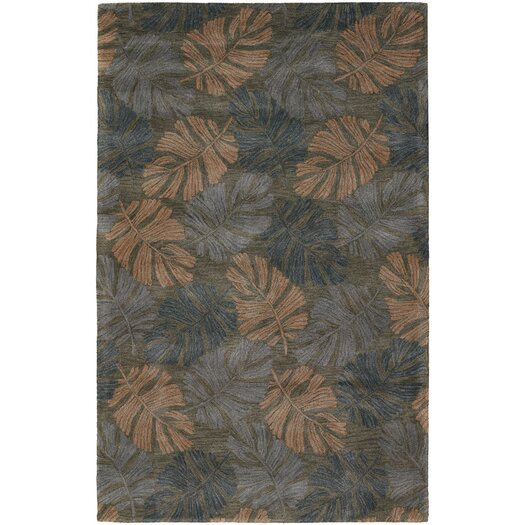 Chandra Rugs Seasons Dark Brown Area Rug