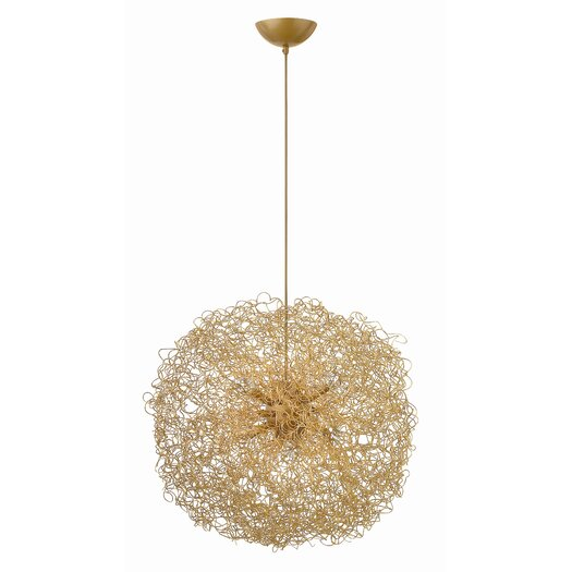 Fredrick Ramond Ion 6 Light Chandelier