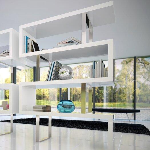 """Modloft Pearl 66"""" Bookcase"""