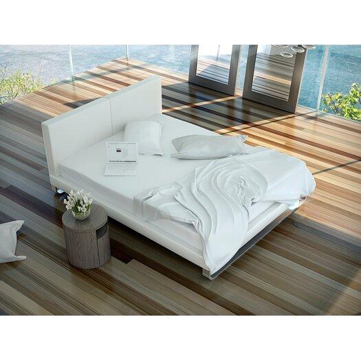 Modloft Chelsea Upholstered Platform Bed