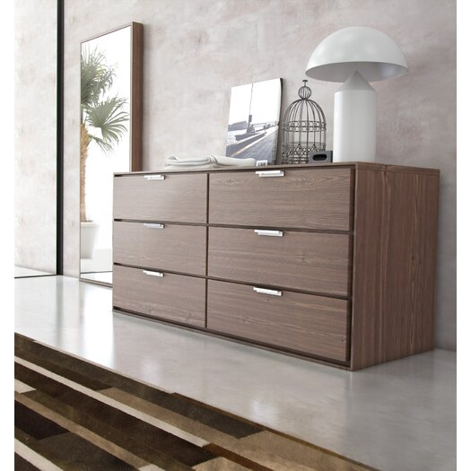 Modloft Thompson 6 Drawer Dresser