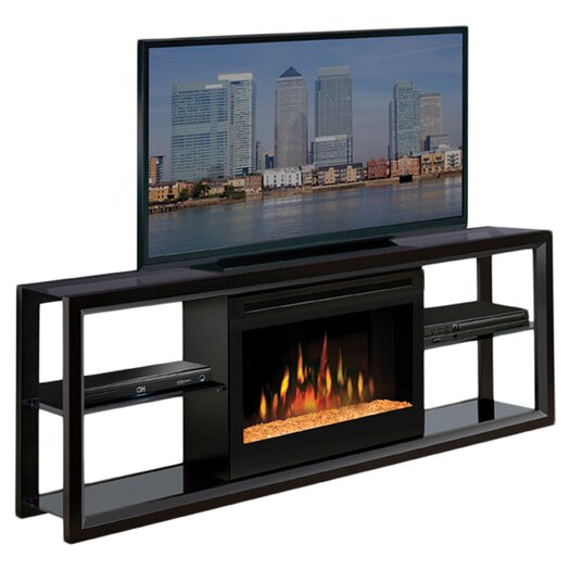 """Hokku Designs 64"""" TV Stand with Electric Fireplace"""
