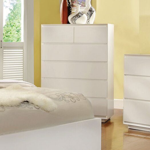 Hokku Designs Pearl 6 Drawer Chest