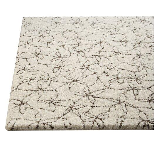 Hokku Designs Pargo White/Grey Rug