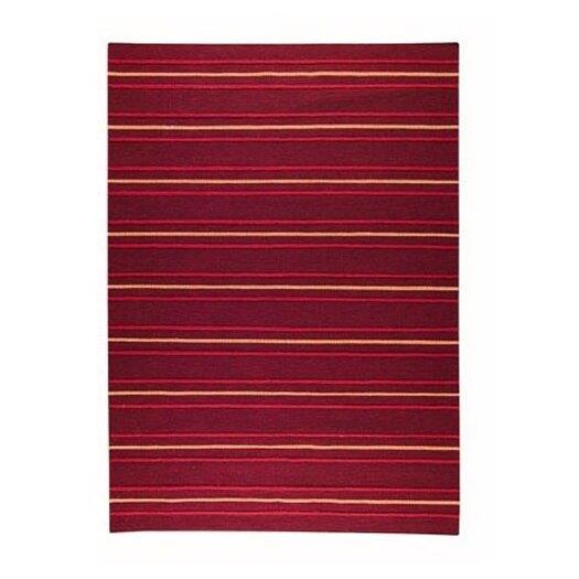 Hokku Designs Savannah Striped Purple Area Rug