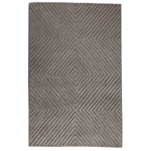 Hokku Designs Mirror Grey Area Rug