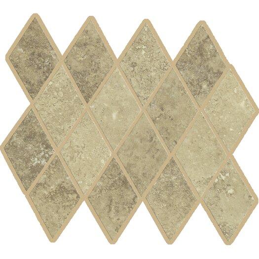 Shaw Floors Lunar Rhomboid Porcelain Unpolished Mosaic in Beige