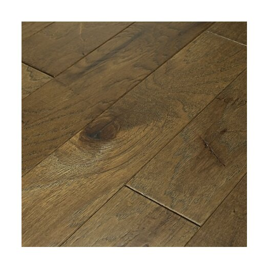 """Shaw Floors Brushed Suede 5"""" Engineered Hickory Flooring in Olive Branch"""