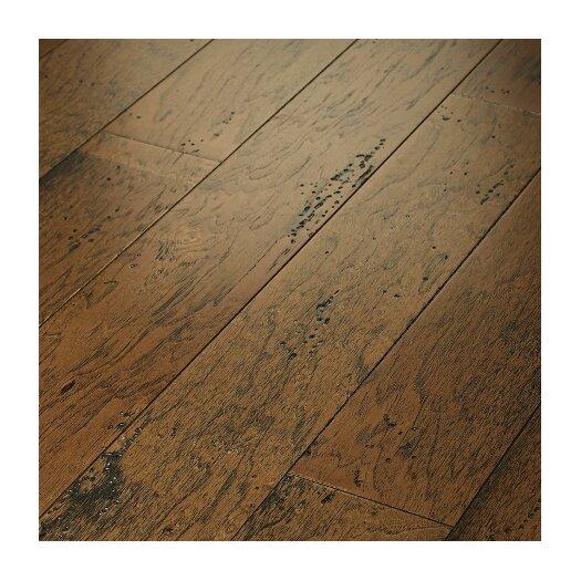 "Shaw Floors Epic Rosedown 5"" Engineered Hickory Flooring in Burnt Sugar"