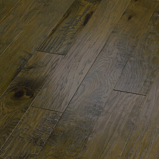 "Shaw Floors World Tour 5"" Engineered Handscraped Hickory Flooring in Passage"