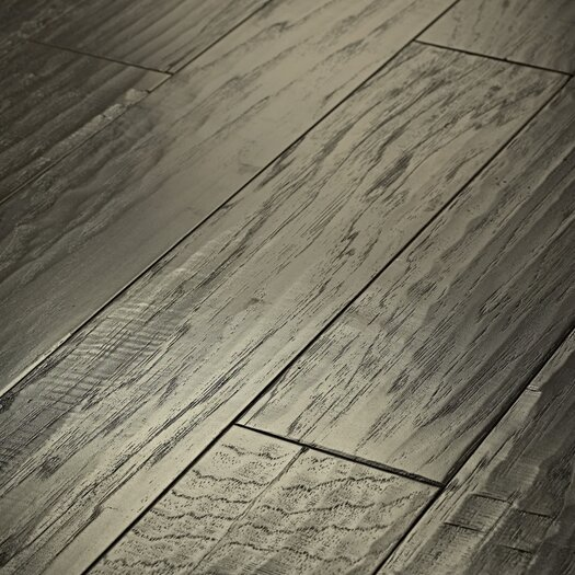 "Shaw Floors Epic Pebble Hill 5"" Engineered Hickory Flooring in Stonehenge"