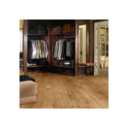 "Shaw Floors Acadian Heights 6-3/8"" Engineered Handscraped Maple Flooring in Sand Point"