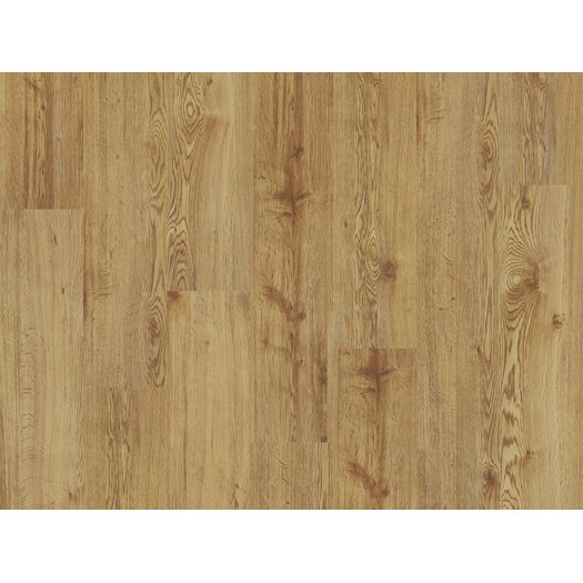 "Shaw Floors Sumter 7"" x 36"" Vinyl Plank in Sand Oak"